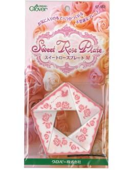 Clover 57-552 Sweet Rose Plate