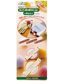 Clover 58-793 Pom Pom Maker (Set of 2) S