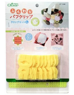 Clover 67-508 Puff Quilting Clips(L)