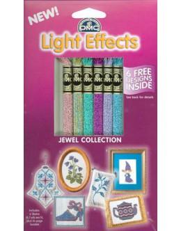 DMC Light Effects Jewel Collection Metallic Floss (Pack of 6)