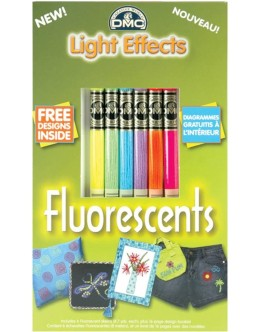 DMC Light Effects Fluorescent Collection Metallic Floss (Pack of 6)