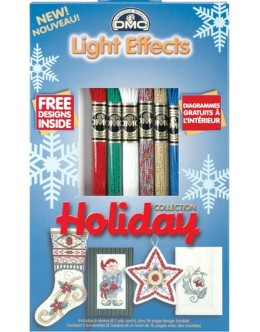 DMC Light Effects Holiday Collection Metallic Floss (Pack of 6)