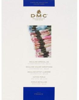 DMC Floss Color Card