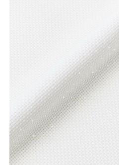 DMC 14 ct Iridescent Aida Fabric (white)