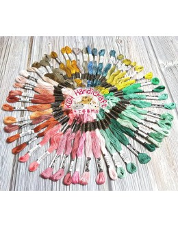 Olympus No.25 Embroidery Floss 50 skeins
