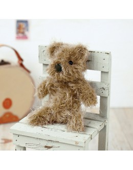 [H441-338] Hamanaka Felt Wool kit - Teddy Bear