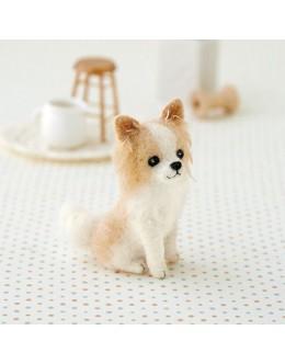 [H441-422] Hamanaka Felt Wool kit - Chihuahua
