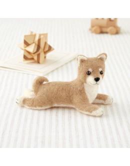 [H441-424] Hamanaka Felt Wool kit - Shiba