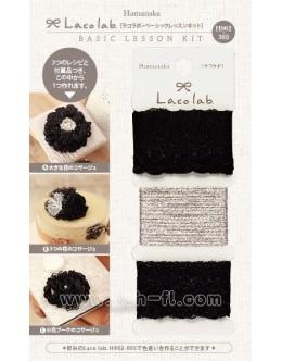 Hamanaka H902-305 Laco Lab Lace Ruffle Pom Pom kit