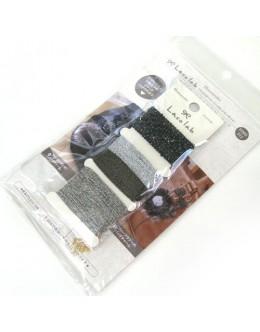 Hamanaka H902-312 Laco Lab Lace Ruffle Pom Pom kit