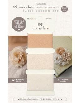 Hamanaka H902-313 Laco Lab Lace Ruffle Pom Pom kit