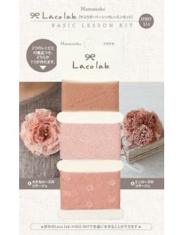 Hamanaka H902-314 Laco Lab Lace Ruffle Pom Pom kit