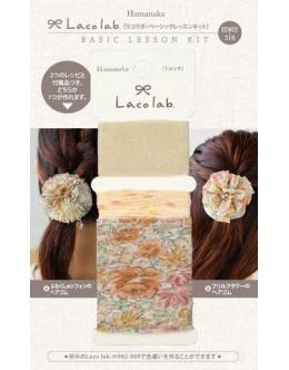Hamanaka H902-316 Laco Lab Lace Ruffle Pom Pom kit