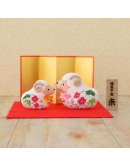 Hamanaka H409-002 Crepe Kit Pattern Print Series