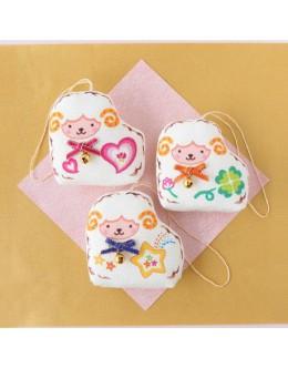 Hamanaka H409-003 Crepe Kit Pattern Print Series