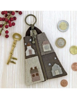 Olympus SP-2 Country House Key Ring Coin Purse