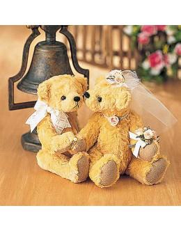 Hamanaka H431-039 Wedding Ring Bear Sewing Kit