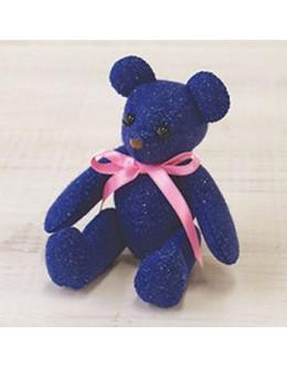 Sun Felt LB-3 Blue Lame Bear Felt Craft kit