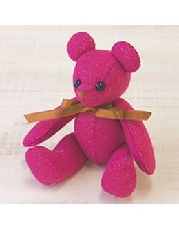 Sun Felt LB-5 Pink Lame Bear Felt Craft kit