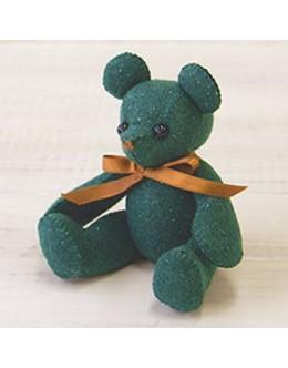 Sun Felt LB-7 Green Lame Bear Felt Craft kit