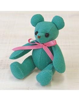 Sun Felt LB-8 Mint Green Lame Bear Felt Craft kit