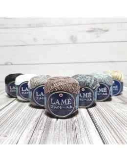Daruma Lame Crochet Thread #30
